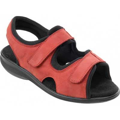 sandaler för svullna fötter
