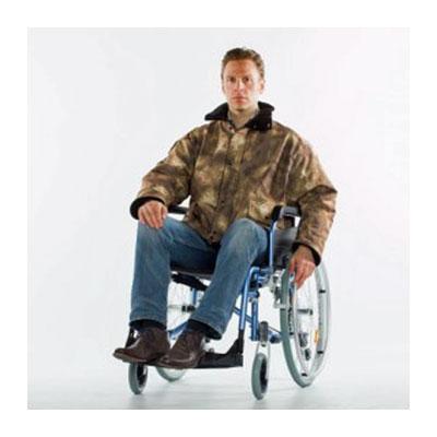 Caper och jackor för rullstol