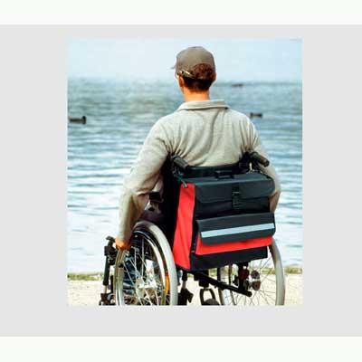 Stadig rullstolsväska i 2 olika bredder art. 10510