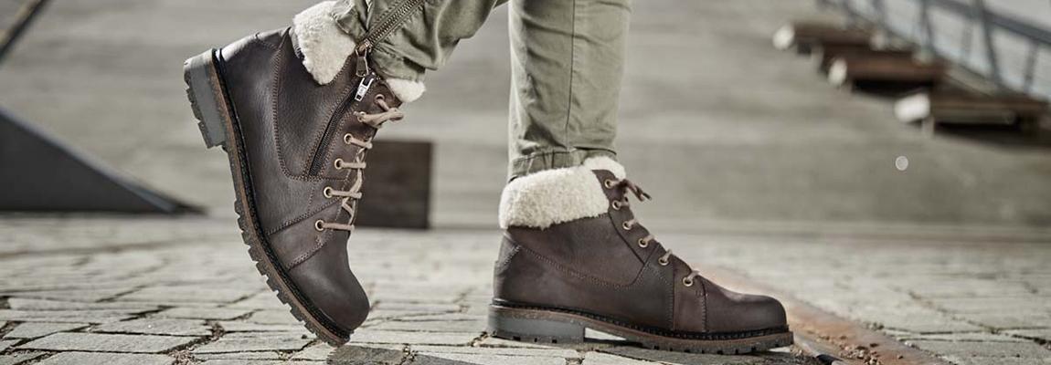 Breda skor med plats för inlägg