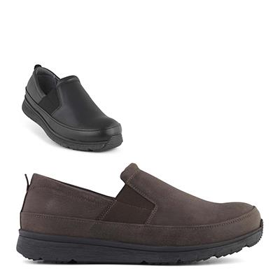 skor med extra bred läst