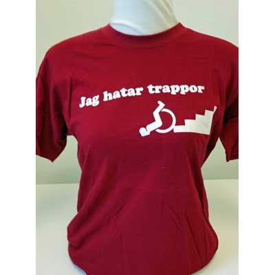 T-shirt med ironisk text