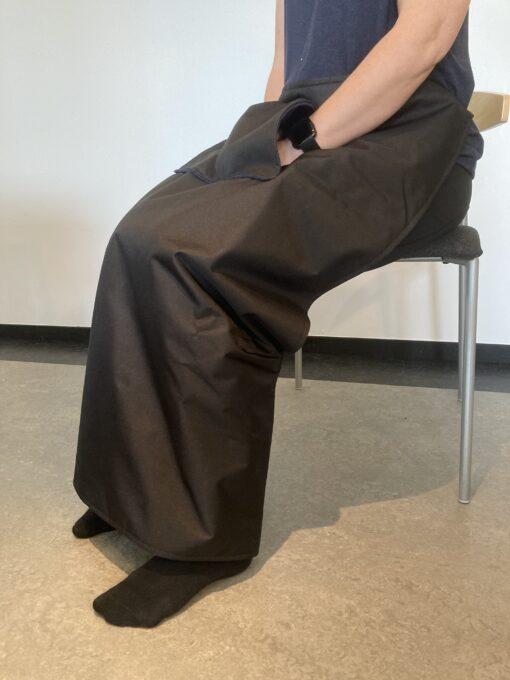 Benskydd benfilt för rullstol1