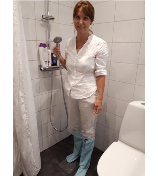 Duschstrumpan dusch hjälpmedel 2