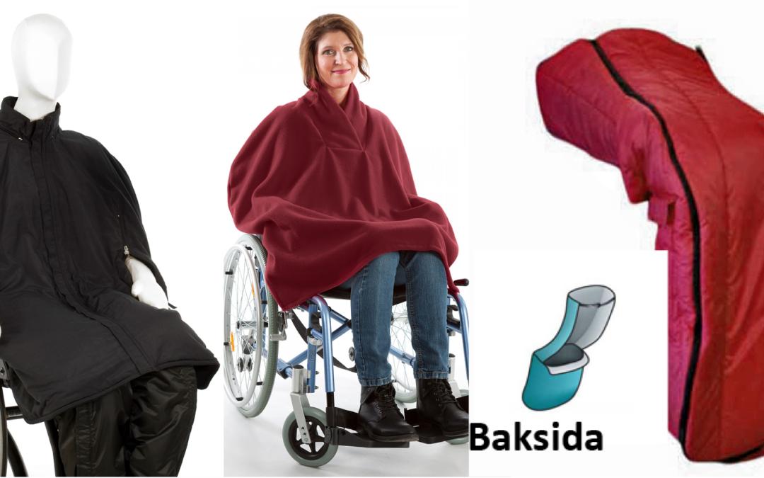 Klädd för utevistelse i rullstol – tips för äldreboenden